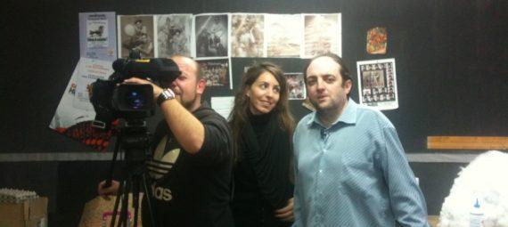 Entrevista a Fontecha para informativos TVE